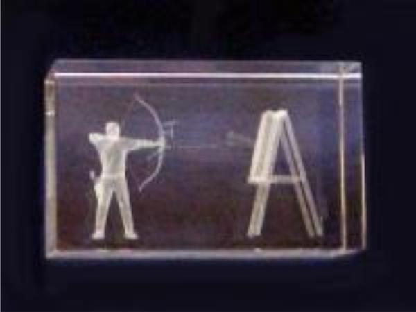 3D Bogenschütze